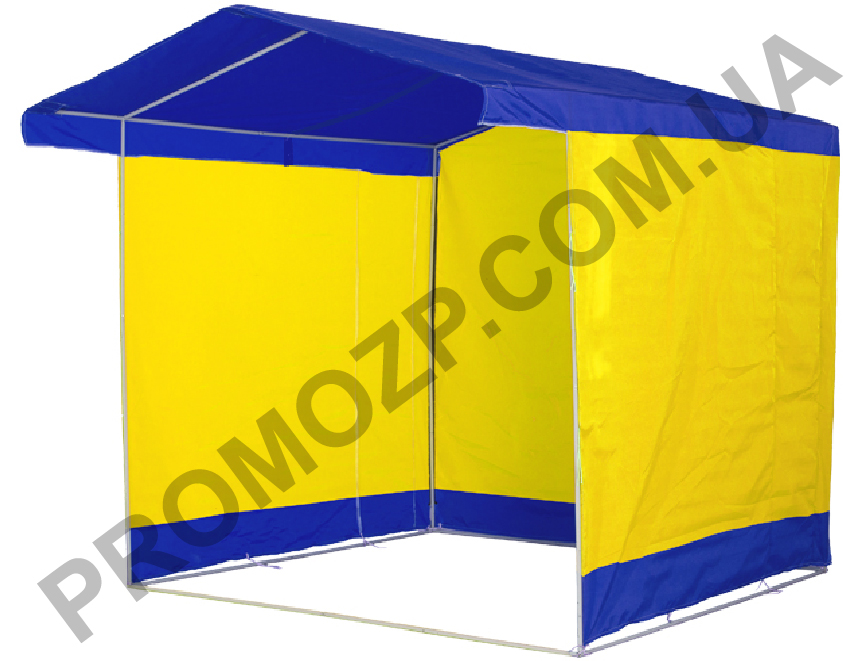 сборке торговой палатки,