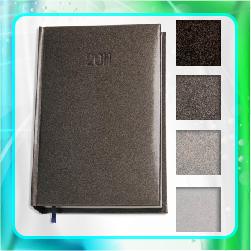 ежедневник economix Gallaxy блок белый датированный и не датированный, под тиснение фольгой тиснение золотом тиснение серебром
