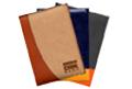 комбинированные ежедневники, производство ежедневников с комбинированной обложкой, разноцветная обложка ежедневника promozp.com.ua