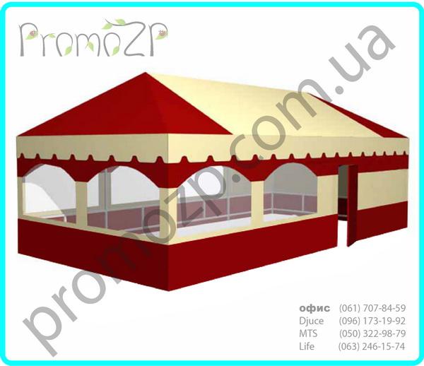 торговый павильон, летнее кафе, шатры навесы, заказать изготовление тента для кафе
