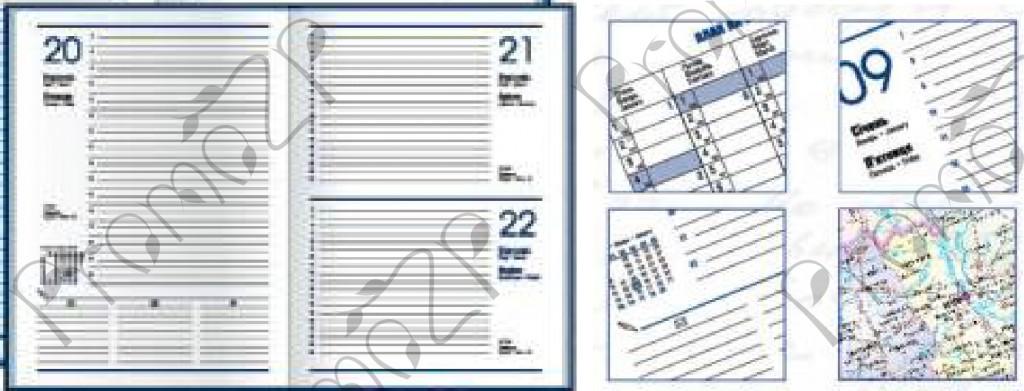 экономикс блок белый ежедневник формата А5
