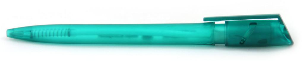 """1013 """"Железная маска"""" Ручка пластиковая с поворотным механизмом, цвет зелёный, купить пластиковые ручки в Кировограде, ручки с печатью в Кировограде, печать на ручках , ручки с логотипом Кировоград"""
