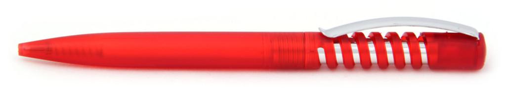 """В 1840-02 В 1840В  ручка пластиковая """"Спираль"""" автоматическая с кнопкой, печать на ручках, ручки с логотипом, агитационные ручки"""