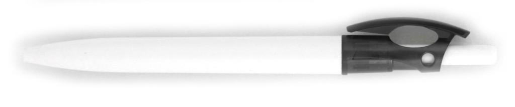 """2084B_01 В 2084B  ручка пластиковая """"Тамагавк"""" автоматическая с кнопкой, печать на ручках, ручки с логотипом, агитационные ручки"""