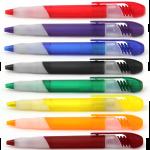 B-2181B ручки пластиковые автоматические, шариковые ручки с логотипом, корпоративные ручки, заказать корпоративные ручки