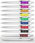 B-3810A пластиковые ручки под нанесение логотипа, купить ручки с логотипом, шариковые ручки под нанесение логотипа