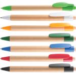 B-7092 эко ручка, Эко ручка с логотипом, эко ручка из дерева, эко ручка из бумаги, эко ручка с печатью, печаь на эко ручках