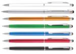 B-7113 Ручка-стилус, ручка стилус универсальный, стилус с логотипом, печать на стилусах, сувенирный стилус с печатью