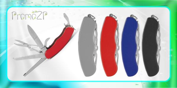 MT3089 мультиинструмент красный 6 в 1 с ножницами