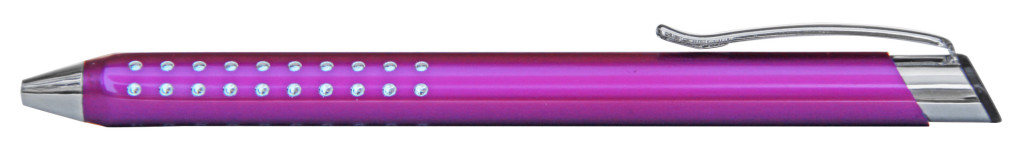 9374M-9 B 9374M Ручка металлическая, автоматическая, фуксия с серебром, сувенирные ручки, сувенирная продукция ручки