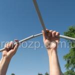 сборка каркаса торговой палатки Стандарт promozp.com.ua