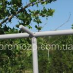 соеденительные елементы каркаса торговой палатки 2х2 метра Стандарт promozp.com.ua