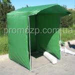торговая палатка 1,5х1,5 тент оксфорд, плотность ткани 150 грамм на 1 метр квадратный каркас металлический диаметр трубки 16 мм promozp.com.ua
