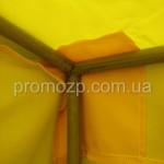 усиление тента торговой палатки в местах углов каркаса для большей прочности тента promozp.com.ua