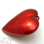 P25 флешка в форме сердца, флешка-сердечко, флешка для любимой, флешка ко дню святого валентина