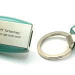 P23 флешка брелок, флешка с выдвижным механизмом, пластиковая флешка