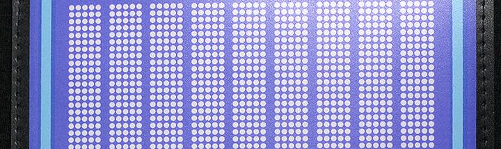 Эффект светодиодного шиврона, шелкотрафаретная печать может создать эфект светодиодного шиврона нашитого на футболку.