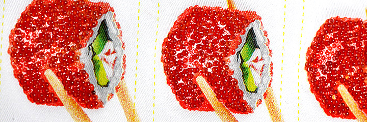 эффект шелкотрафаретной печати точечный растр, имитация полноцветного изображения с помощью шелкотрафаретной печати.